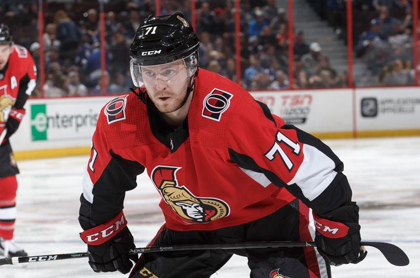 Chris Tierney Ottawa Senators