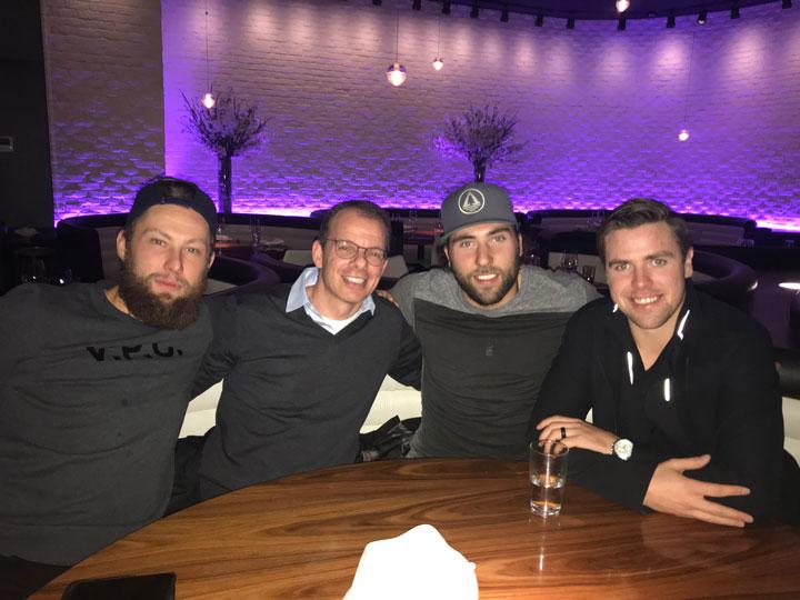 Jake Muzzin, Michael Amadio, & Tanner Pearson Toronto