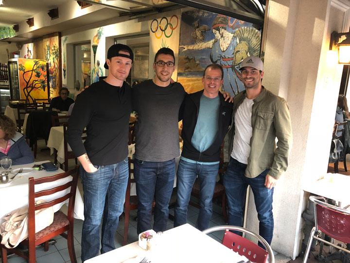 Jared McCann, Frank Corrado, & Adam Henrique Toronto