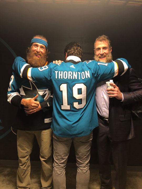 Joe Thornton San Jose