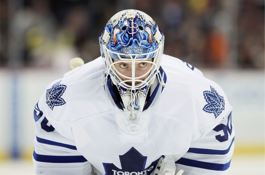 Jonas Gustavsson Toronto Maple Leafs